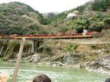トロッコ列車と…