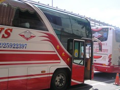 市内観光は このバスで