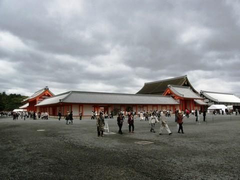 ひろいひろい京都御所