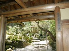 粟田山荘 門