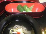 お椀 笹巻き寿司