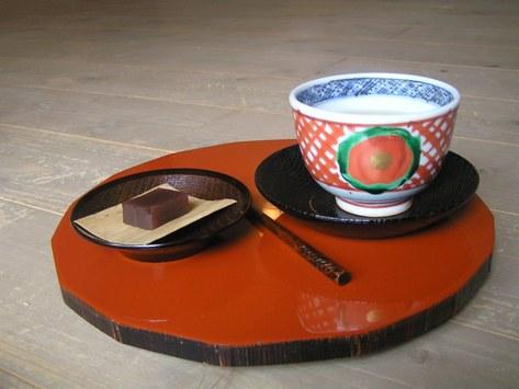 いろは草庵で お茶