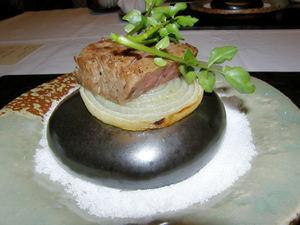 温石 ロースステーキ