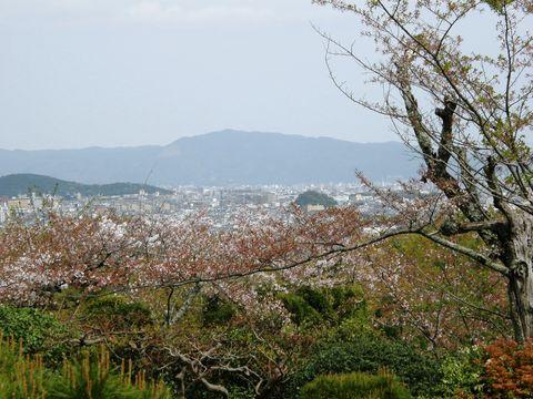 大河内山荘からの眺め
