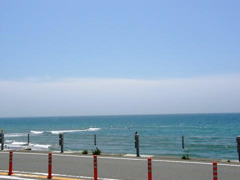 鎌倉 七里ヶ浜の海