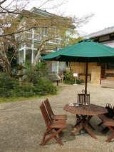 朝のお庭カフェ