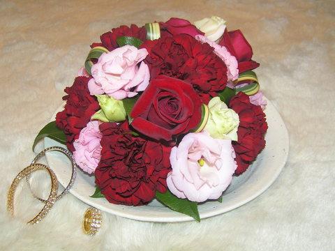 ケーキのようなお花