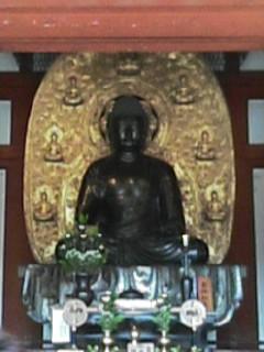 奈良薬師寺 瑠璃光如来像