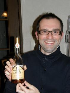 素敵なご主人とハンガリーのワイン
