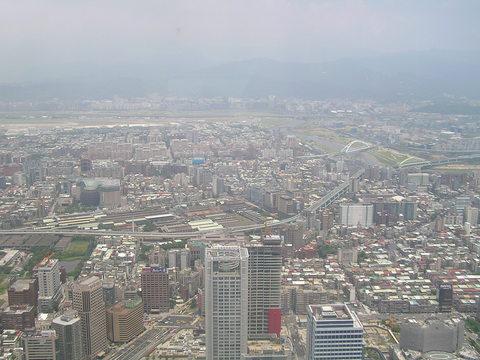 85階から望む台北市内