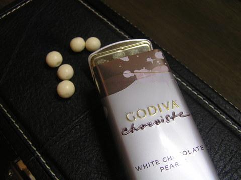 ゴディバ ホワイトチョコレート「パール」