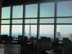 42階から見る東京タワー