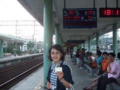 瑞芳駅の私