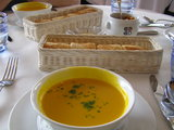 栗かぼちゃのスープ