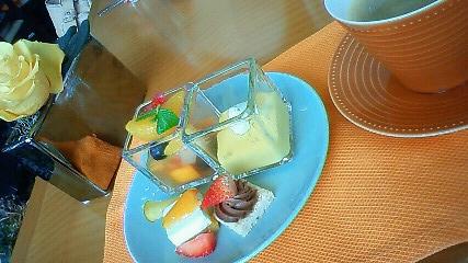 私のデザート