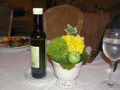 テーブルのお花 2