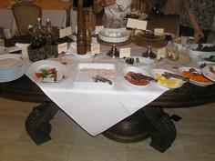 前菜テーブル1