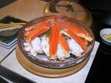 蟹の宝楽焼き1