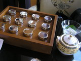 お茶は12種類から選べます