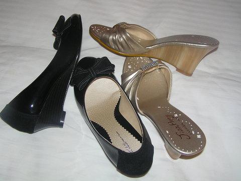 靴の大人買い