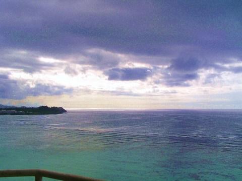 お部屋から 午後の海