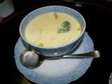 ロブスターとコーンスープ