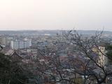 ベランダから見る町並み