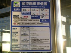 MRT(地下鉄)で猫空へ