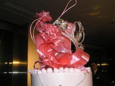 花嫁さんがデザインしたケーキ