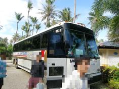 ココパームガーデンビーチのバス