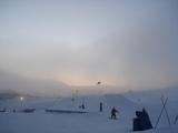 スキーヤー撮影