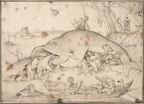 1557 Bruegel Big_Fish_Eat_Little_Fish