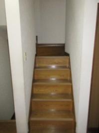 階段手摺2階