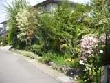 沿道景観に配慮された小布施の住宅