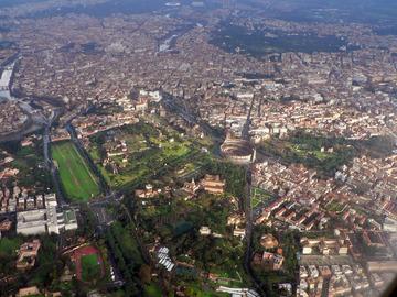 Roma_dall'aereo
