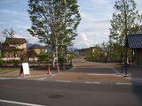 森の駐車場