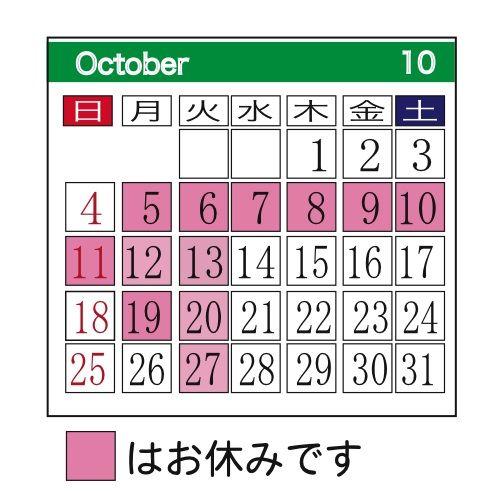 10月改装