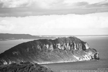 ウカオップ岳(鷲別岬107.3m)
