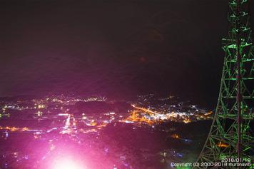 夜の測量山2