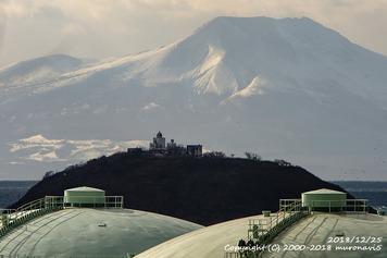 駒ヶ岳と大黒島