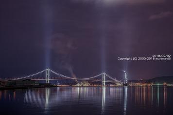 今日の白鳥大橋とJXTG1