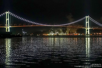 白鳥大橋とJXTG