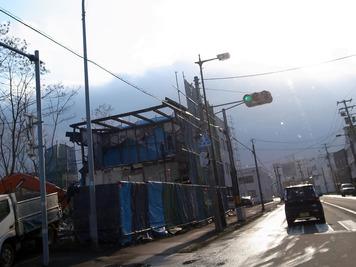 旧長谷川貿易解体