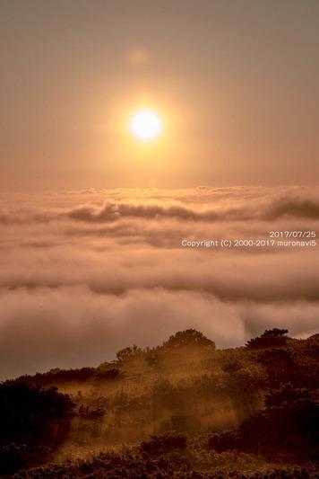 7月25日発生した雲海