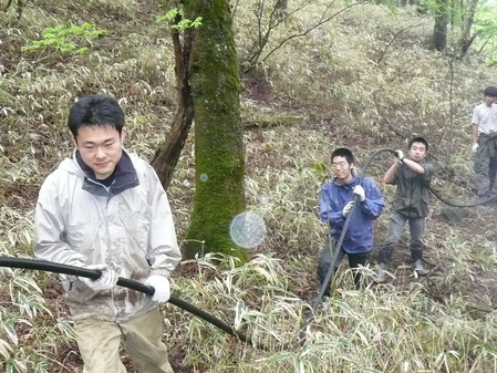 ヒュッテ資料_2009年武蔵上水敷設工事