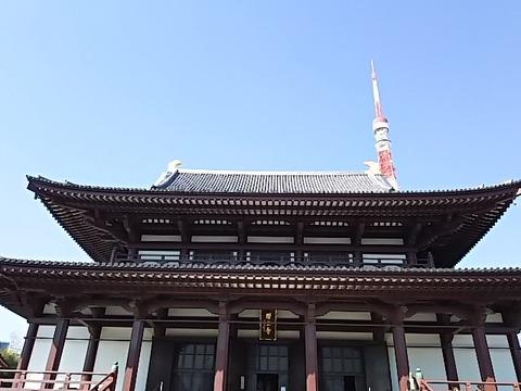 上増寺とタワー