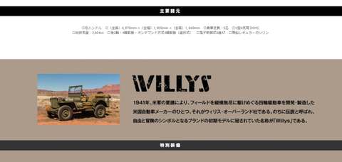 Willys初代