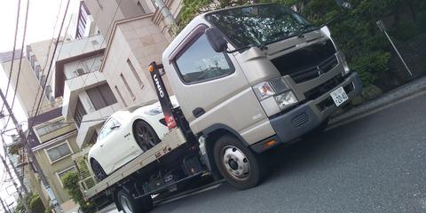 松窪様 積載車2