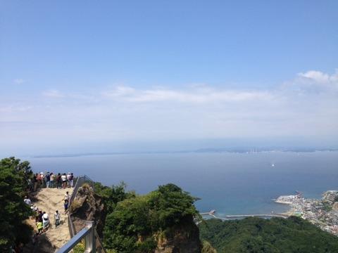 鋸山からの景色