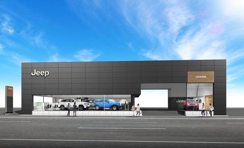 Jeep-浦和 新店舗